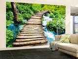 Escalier vers le paradis Papier peint