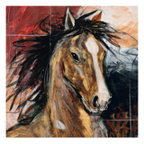 Power at Rest Giclee Print by Madelaine Morris