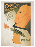Star Trek Episode 29 Operation: Annihilate! TV Poster Posters