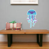 Letter J - Jose the Jellyfish Wall Decal Wall Decal by Wee Society