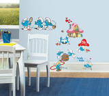 Smurfs Classic Peel & Stick Wall Decals Wall Decal