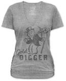 Juniors: Monopoly - Gold Digger T-Shirt