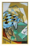 The Chess Board, 1914 Giclee Print by Juan Gris