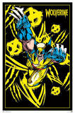 Wolverine Comics Blacklight Poster Posters