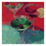Martini in Red Giclee Print by Patti Mollica