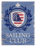 American Sailing Reproduction procédé giclée par Sam Appleman