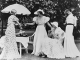 Ladies' Garden Party, 1934 Lámina fotográfica
