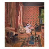 La Partie des Dames (The Board Game), c. 1905-10 Giclee Print by Edouard Vuillard