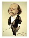 Gustave Flaubert Giclee Print by Eugene Giraud