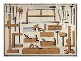 Cabinet Maker's Tools, C.1890 Print
