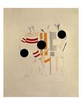 Sportsmen Giclee-trykk av El Lissitzky