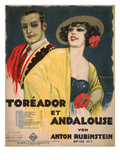 Cover of the Sheet Music for Toreador et Andalouse by Anton Rubinstein, Op.103 No.7 Giclee Print