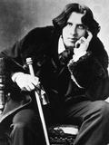 Oscar Wilde, 1882 Papier Photo