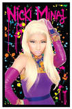 Nicki Minaj Blacklight Poster Prints