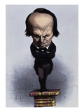 Victor Hugo Prints by Honore Daumier