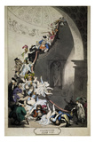 Exhibiton Stare Case, 1811 Giclee Print by Thomas Rowlandson