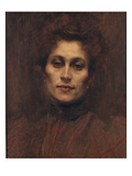 Portrait of a Lady, 1894 Giclee Print by Eugene Carriere