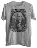 Zombie George T-shirts