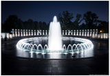 National WWII Memorial Photo Poster Affiches par Mike Dillon