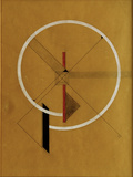 Proun, c.1920-21 Prints by El Lissitzky