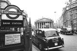 Underground Station Bank, London Photographic Print