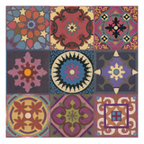 Global Patchwork Giclee Print by Hope Smith