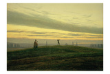 The Evening Star Giclee Print by Caspar David Friedrich