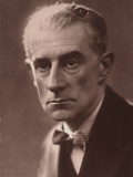 Maurice Ravel, C 1935 Photographic Print