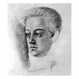 Gustave Flaubert, C.1840 Giclee Print