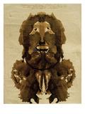 Klecksografie, Self-Portrait Giclee Print by Justinus Kerner