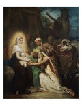 L'Adoration des Mages (Adoration of the Magi), 1856 Prints by Théodore Chasseriau
