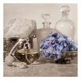 Hydrangea and Atomizer Giclee Print by Julie Greenwood