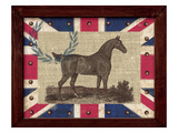 British Equestrian Reproduction procédé giclée par Sam Appleman
