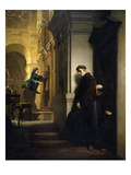 The Young Mozart Giclée-tryk af Heinrich Lossow