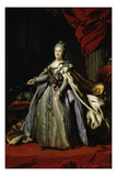 Portrait of Cathyerine II, c.1770 Giclee Print by Fedor Stepanovich Rokotov