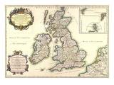 Les Isles Britanniques (...), C. 1650 Prints
