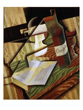 Le Livre (The Book), 1915 Giclee Print by Juan Gris
