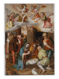 Adoration of Shepherds, 1575 Giclee Print by Marcello Venusti