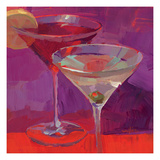 Martini in Magenta Giclee Print by Patti Mollica