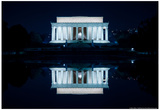 Lincoln Memorial Photo Poster Posters by Mike Dillon