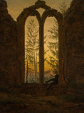 The Dreamer Giclee Print by Caspar David Friedrich