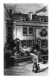 Dickens Birth House Print