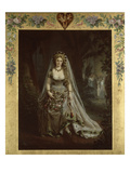 "Portrait with Costume of ""Queen of Hearts,"" After Opera by Giuseppe Verdi, 1859 Giclee Print by Pierre-Louis Pierson"