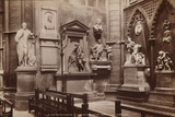 Westminster Abbey, Poets Corner, C.1900 Stretched Canvas Print