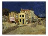 La casa amarilla Lámina giclée por Vincent van Gogh