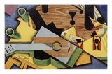 "Nature Morte à la Guitare"" (Still Life with Guitar), 1913 Premium Giclee Print by Juan Gris"