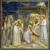 Adoration of the Kings, c.1303-10 Giclee Print by  Giotto di Bondone