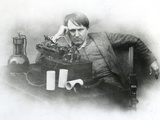 Edison, Phonograph Photographie