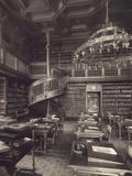 Berlin, Reichstag, Library Fotografie-Druck