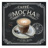Coffee House Caffe Mocha Giclee Print by Chad Barrett